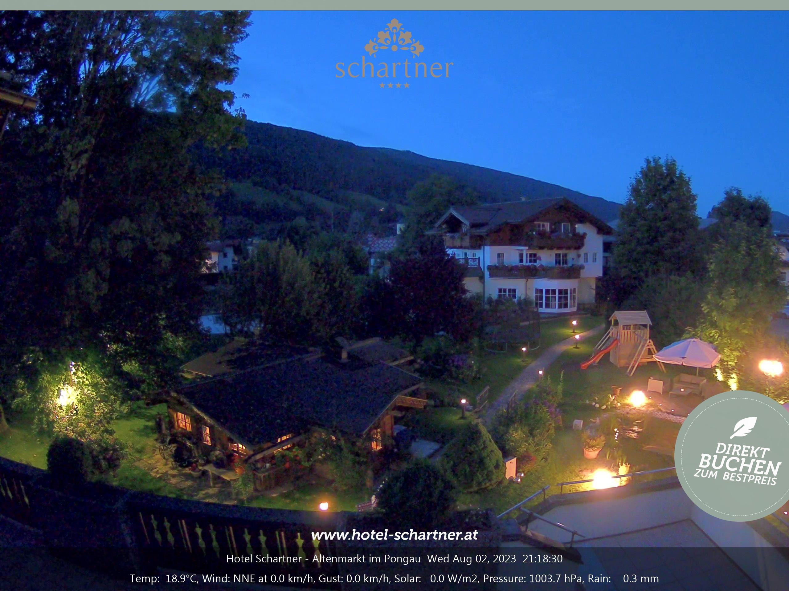 WEBkamera Altenmarkt im Pongau - hotel Schartner