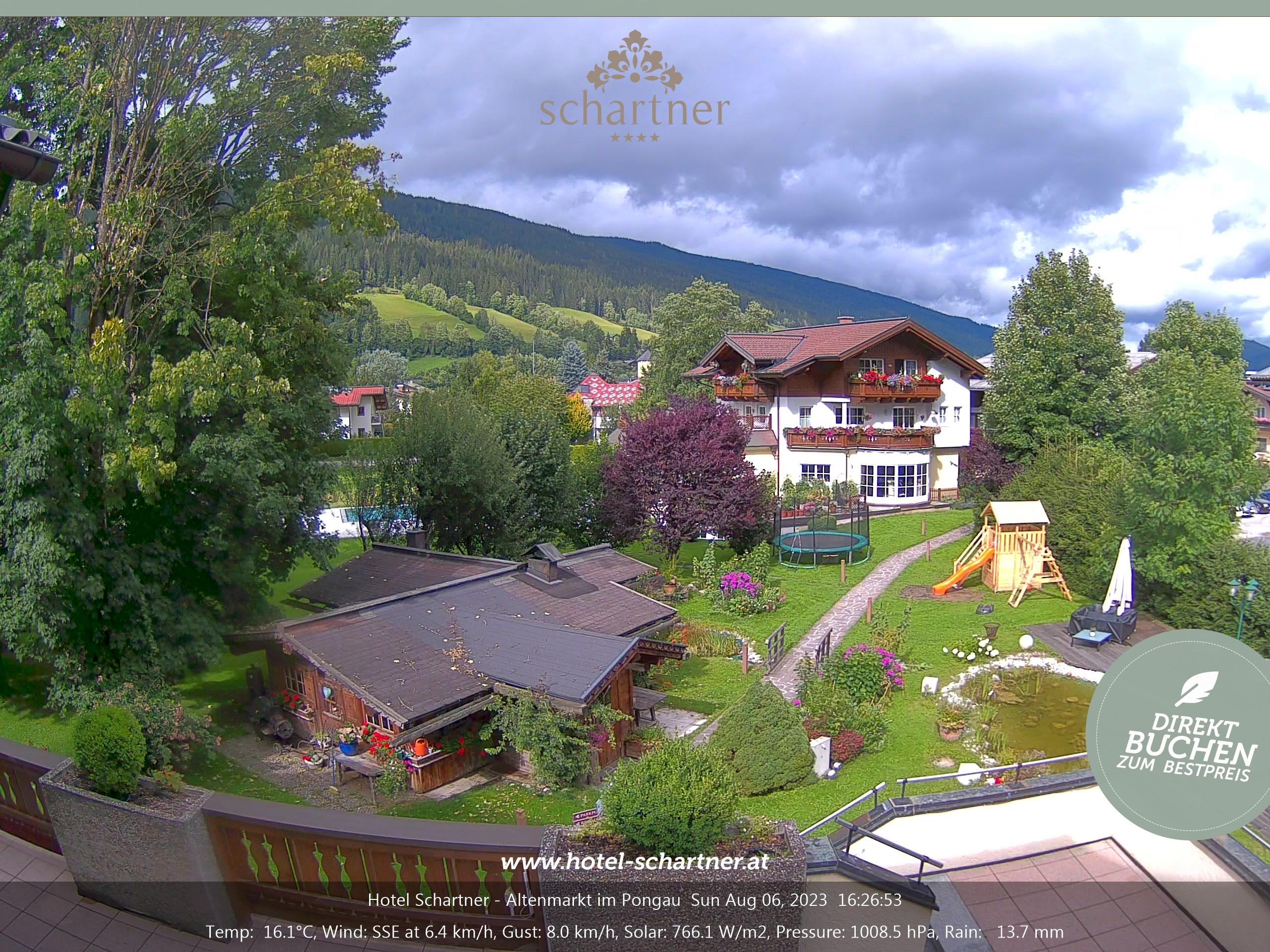 Webcam Livecams Altenmarkt Salzburg Flachau Zauchensee