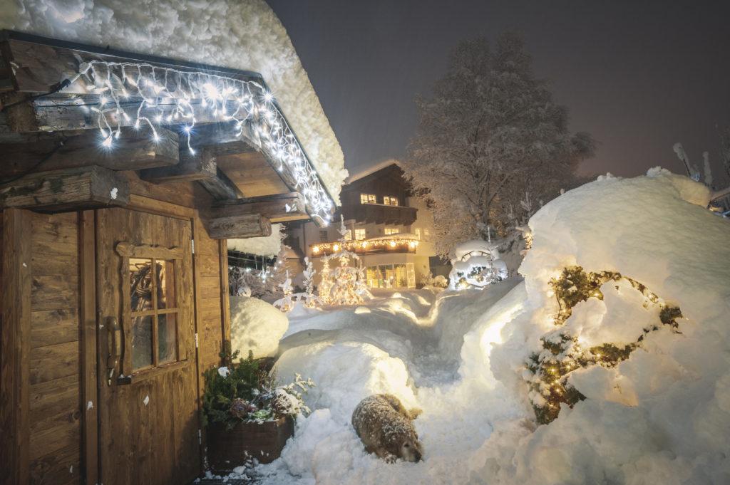 Hotel Schartner im Winter